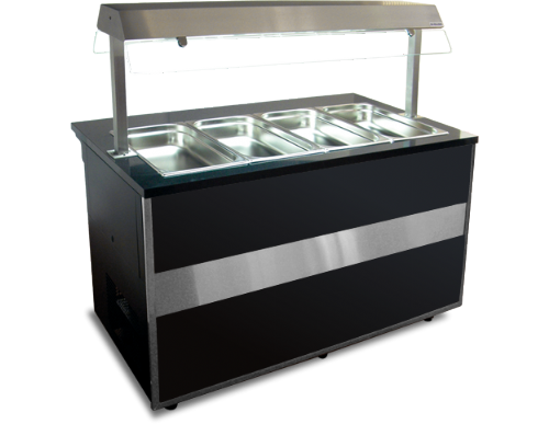 Igloo Gastroline GLH-1500 Open Gastronorm Hot Servery Counter